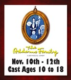 Addams Family Sunday Nov. 12th - 2pm