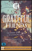 Grateful Friends - October 27th 6:00pm